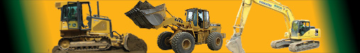 Sitework and Earthwork Construction with loader, bulldozer, excavator